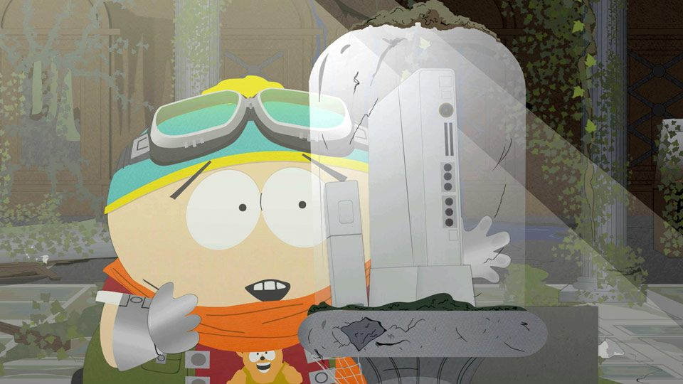 Cartman froze himself because he couldn't contain his impatience