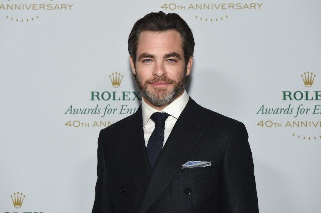 Actor and presenter Chris Pine attends the 2016 Rolex Awards for Enterprise at the Dolby Theatre on November 15, 2016 in Hollywood, California.
