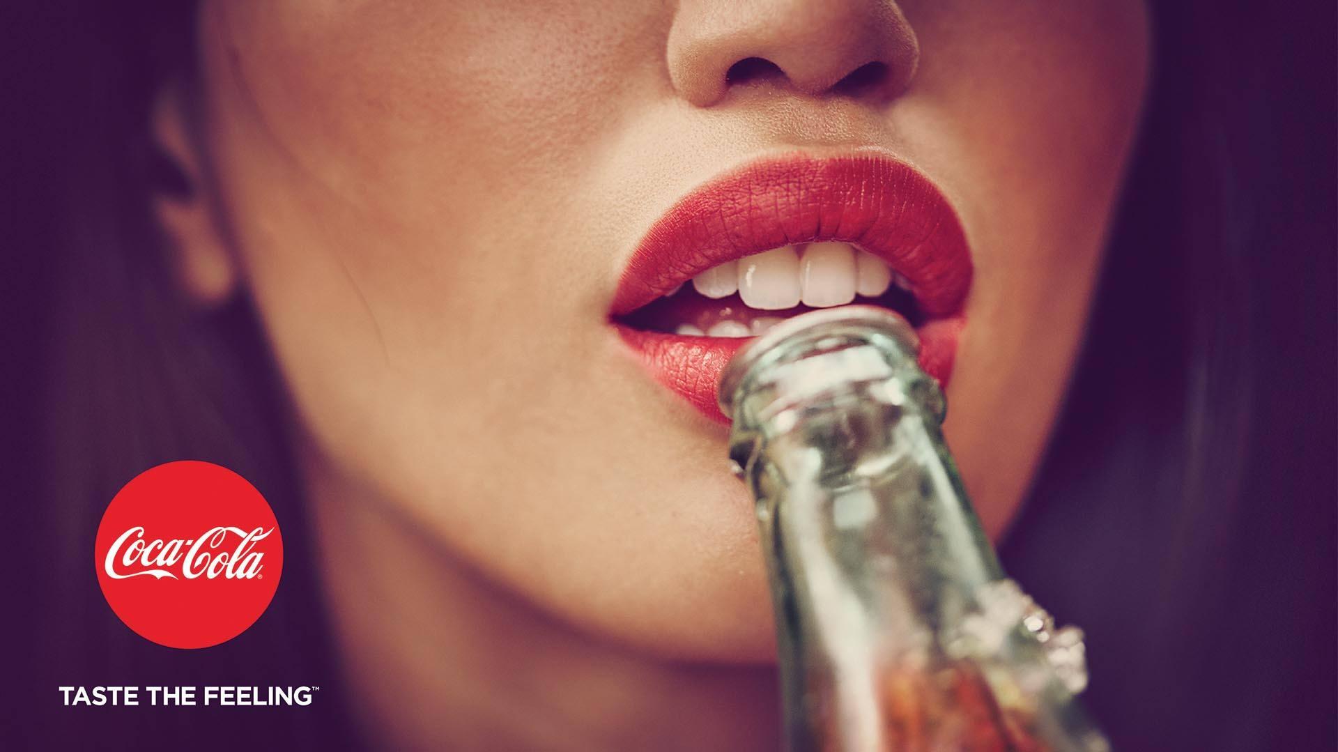 """Coca-Cola's """"Taste the Feeling"""" campaign"""