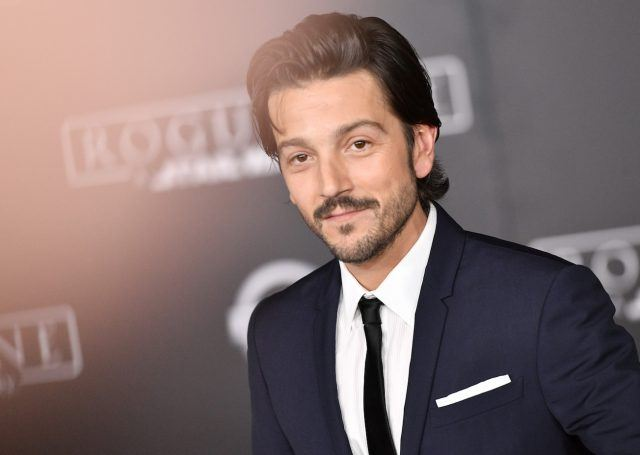"""Actor Diego Luna attends the premiere of Walt Disney Pictures and Lucasfilm's """"Rogue One: A Star Wars Story"""" at the Pantages Theatre on December 10, 2016 in Hollywood, California."""