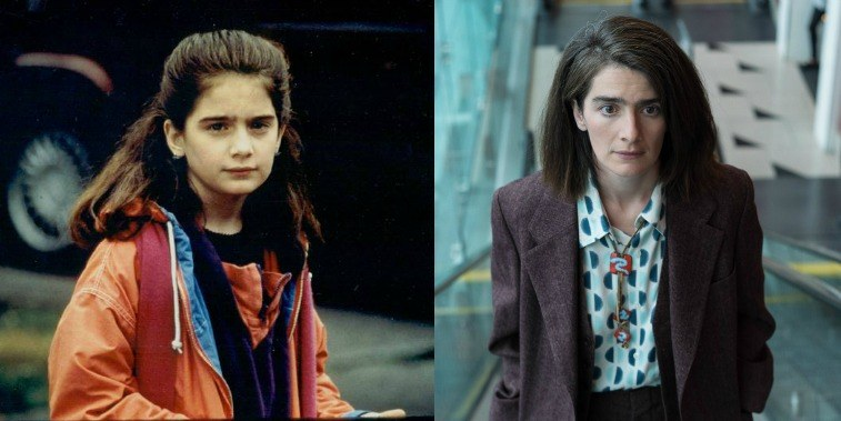 Gaby Hoffmann in Sleepless in Seattle in the '90s, and in Transparent in 2016