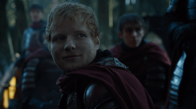 Singer Ed Sheeran guest-starred in the Season 7 premiere of 'Game of Thrones.'