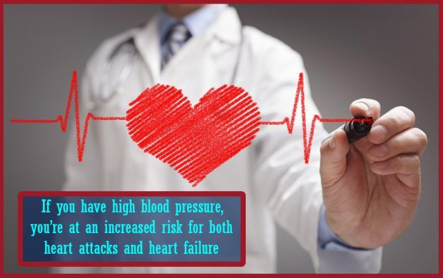 a doctor indicates heart health