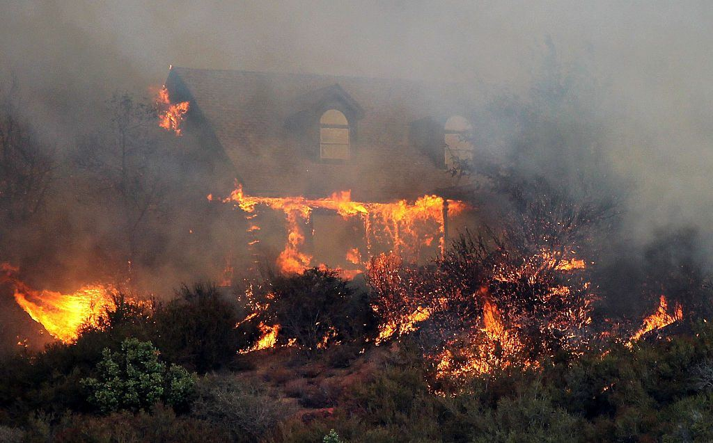 Devastating Wildfires Are a Huge Risk to Homeowners in These 10 States