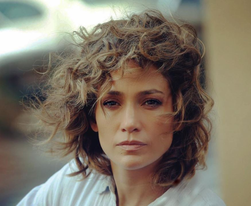 Jennifer Lopez as her Shades of Blue character, Detective Harlee Santos