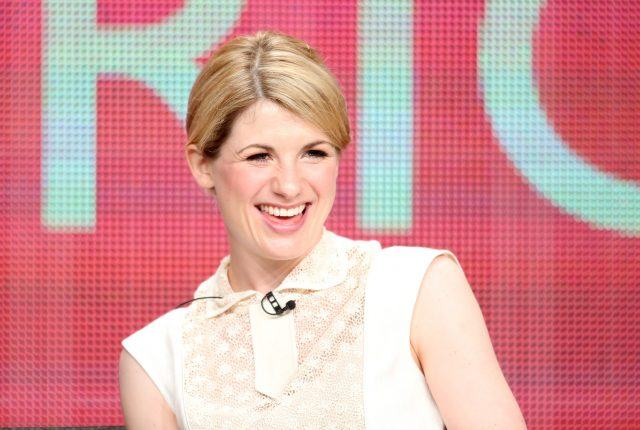 "Actress Jodie Whittaker speaks onstage at the ""Broadchurch"" panel discussion during the BBC America portion of the 2013 Summer Television Critics Association tour - Day 2 at the Beverly Hilton Hotel on July 25, 2013 in Beverly Hills, California."