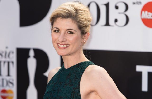 Actress Jodie Whittaker attends the Classic BRIT Awards 2013 at the Royal Albert Hall on October 2, 2013 in London, England.