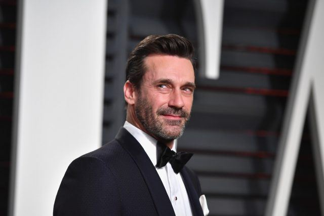 Actor Jon Hamm attends the 2017 Vanity Fair Oscar Party hosted by Graydon Carter at Wallis Annenberg Center for the Performing Arts on February 26, 2017 in Beverly Hills, California.