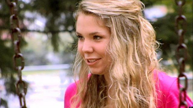 Kailyn Lowry in an episode of 'Teen Mom'.