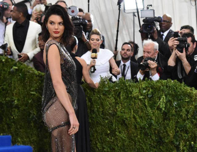 """Model Kendall Jenner attends the """"Rei Kawakubo/Comme des Garcons: Art Of The In-Between"""" Costume Institute Gala at Metropolitan Museum of Art on May 1, 2017 in New York City."""