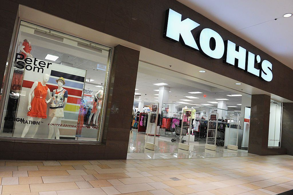 entrance to kohl's store