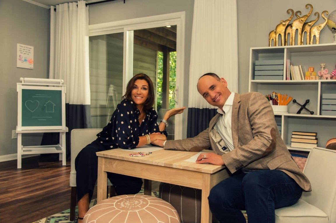 Hillary Farr and David Visentin of Love It or List It | HGTV