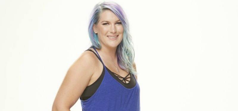 Megan Lowder is smiling on Big Brother.