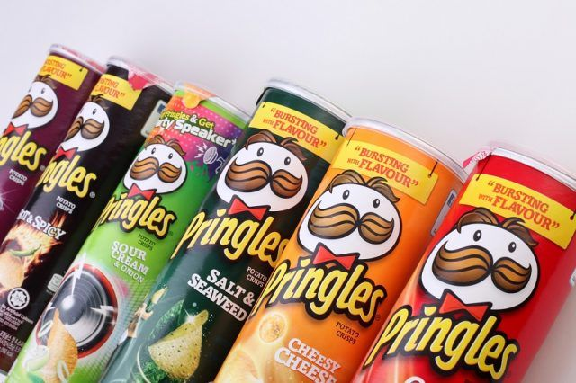 Reduced fat snacks aren't always healthier, but Pringles are.