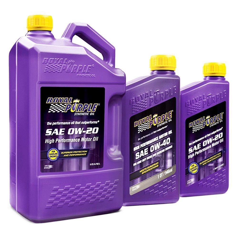 Royal Purple synthetic motor oils