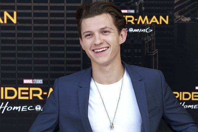 Actor Tom Holland attends 'Spider-Man: Homecoming' photocall at the Villamagna Hotel on June 14, 2017 in Madrid, Spain.