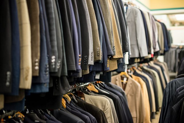 suit jackets at Unclaimed Baggage Center