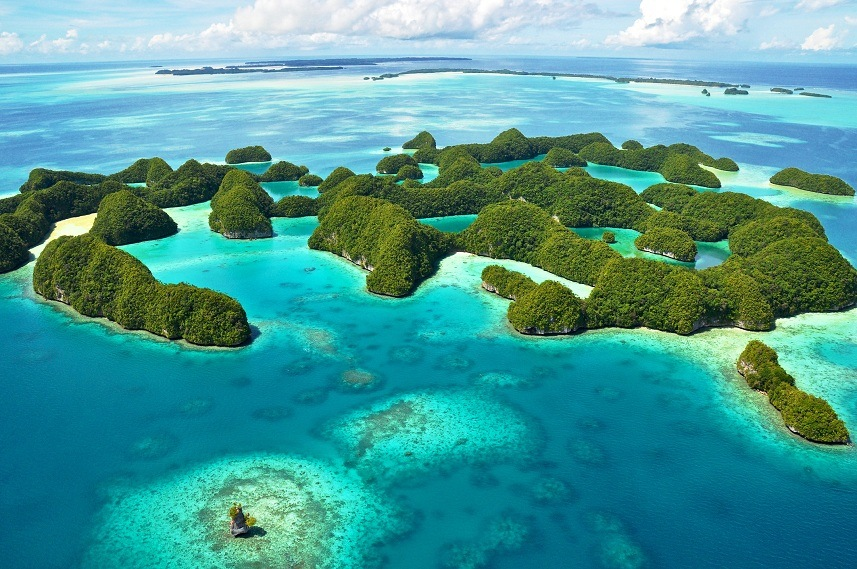 70 island in palau70 Island