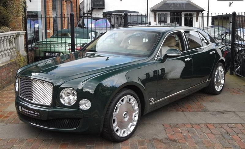 Queen Elizabeth's 2012 Bentley Mulsanne
