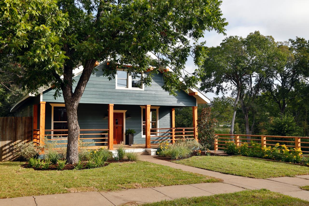 A finished home on HGTV's 'Fixer Upper'