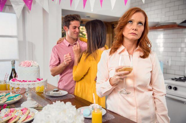 A mom feels left out of a family celebration.