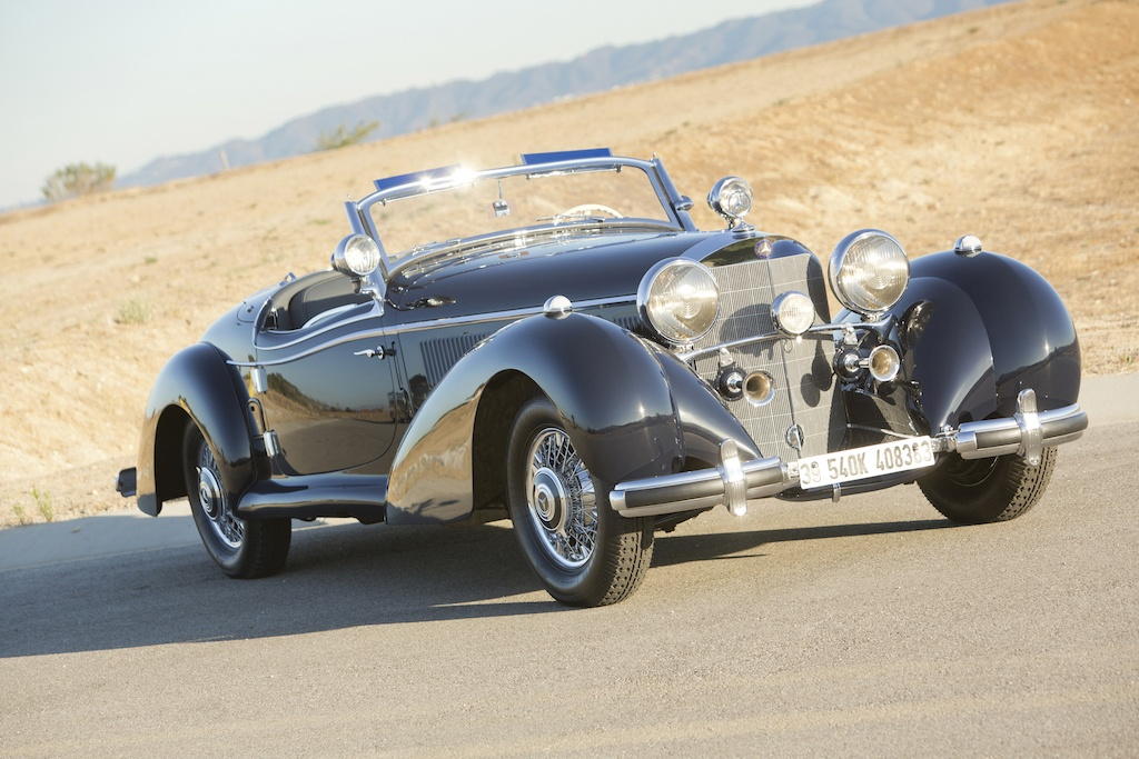 1939 Mercedes-Benz 540K Special Roadster, expensive cars