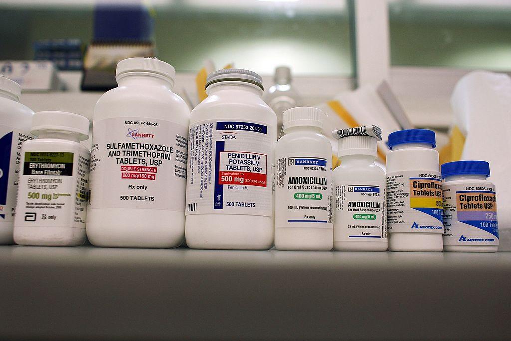Prescription bottles at Publix