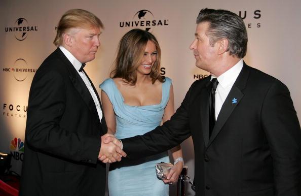 Baldwin Meets Trump