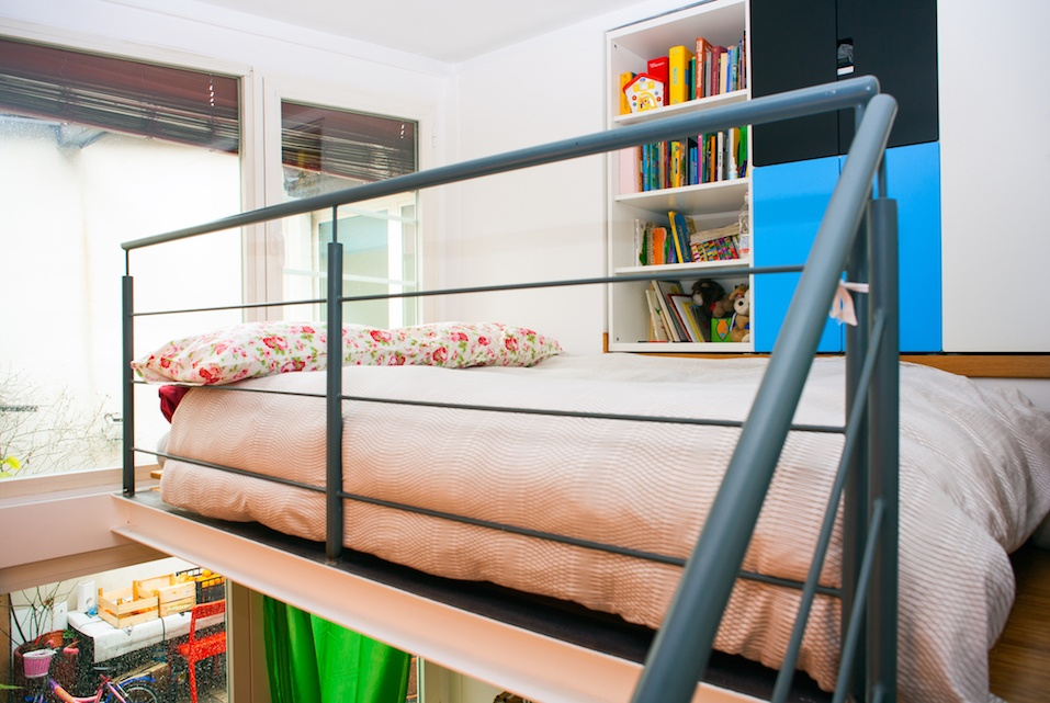 View of bed room
