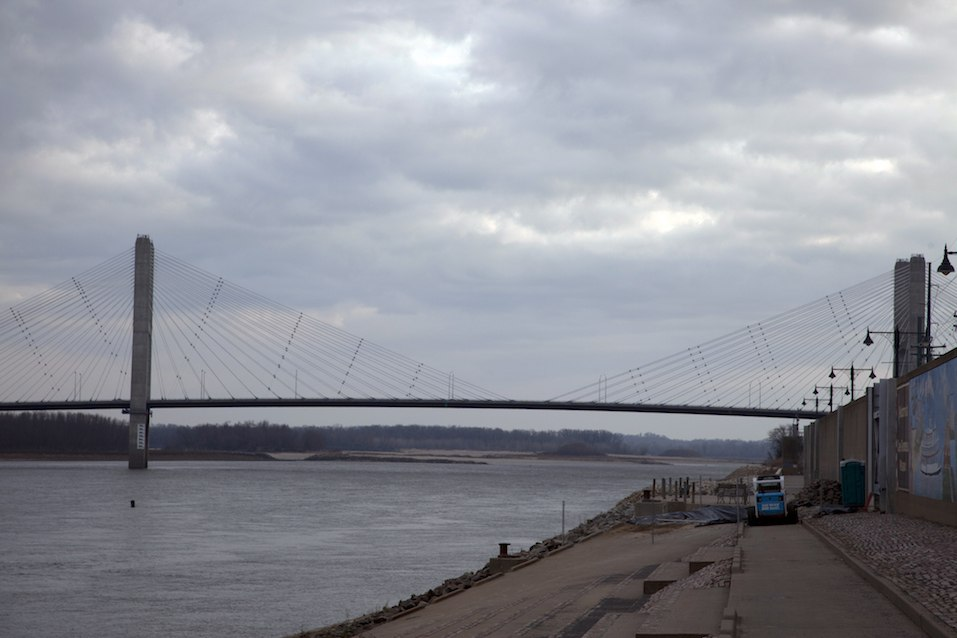The Bill Emerson Memorial Bridge in Cape Girardeau, Missouri.