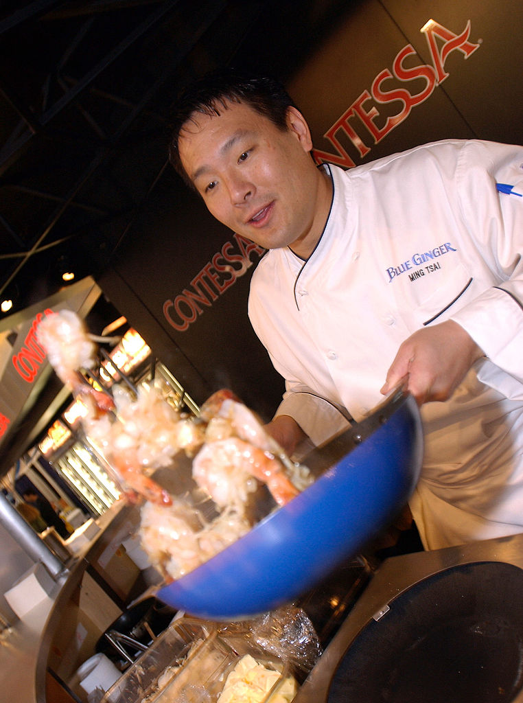 Chef Ming Tsai who hosts the show East Meets West
