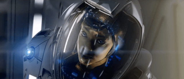 Michael Burnham wears a space suit in Star Trek Discovery