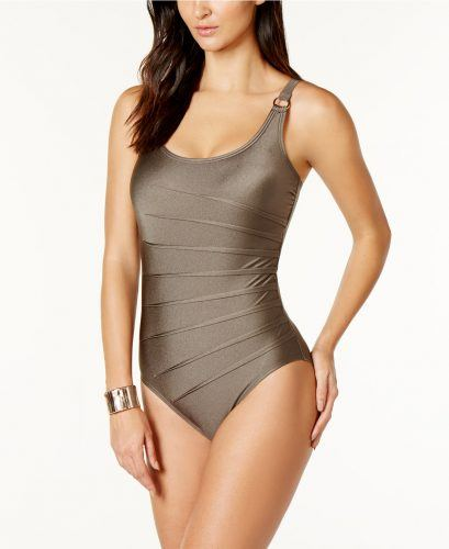 Swimsuits Flatter Any Age Calvin Klein