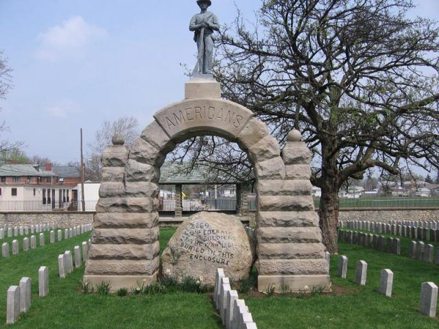 Camp Chase Cemetery Monument
