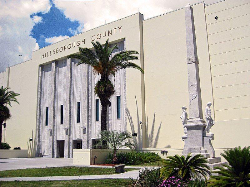 Confederate statue Hillsborough county Florida