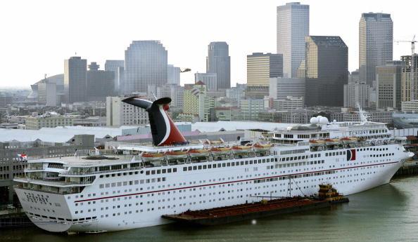 Hurricane Harvey Strands 20 000 Cruise Ship Passengers In Gulf