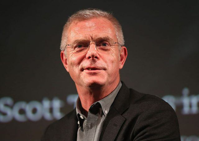 Director Stephen Daldry speaks at a film panel in London in 2015