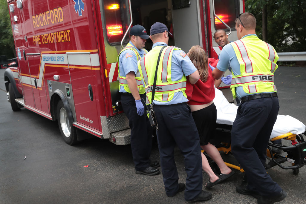 Firefighters help overdose victim
