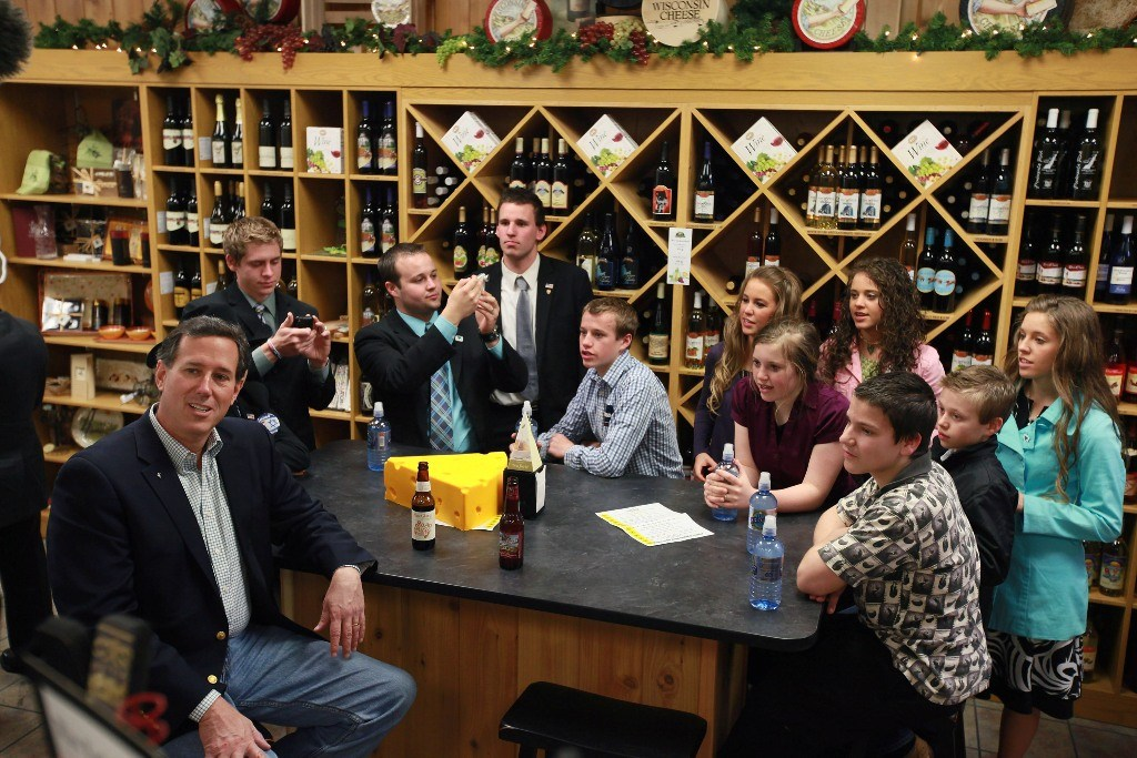 Duggar Family in 2012