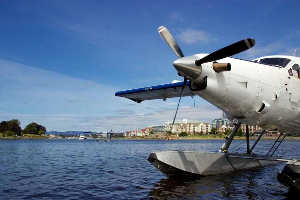 Floatplanes in harbour