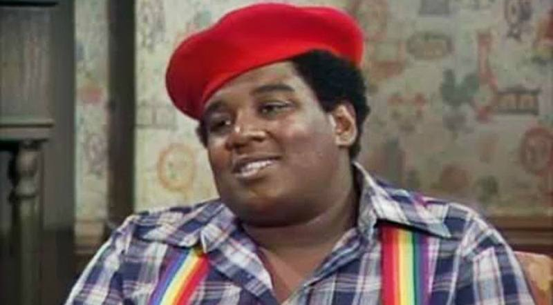 Fred Berry is smiling on What's Happening!!