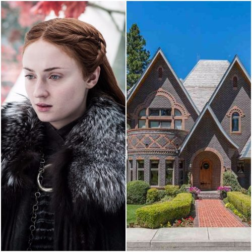 Left: Sansa Stark, Right: Washington cottage