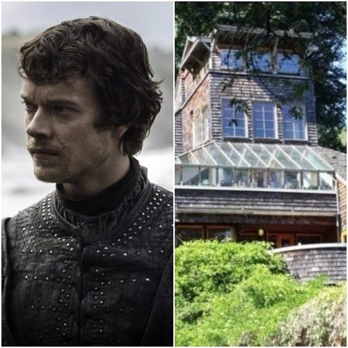 Left: Theon Greyjoy, Right: Washington home