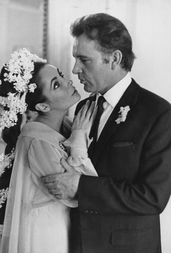 ritish-born actress Elizabeth Taylor weds Welsh actor Richard Burton (1925 - 1984) in Montreal, Canada, 15th March 1964.