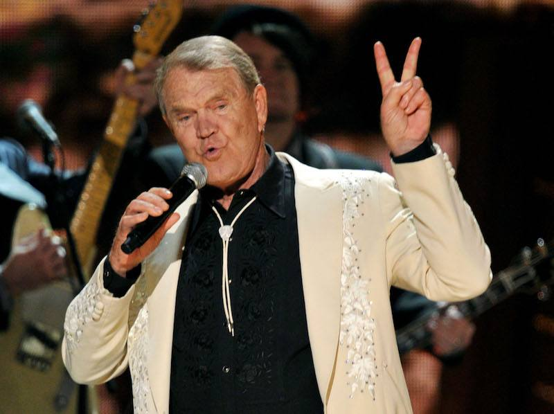 Glen Campbell performs onstage at the 54th Annual GRAMMY Award