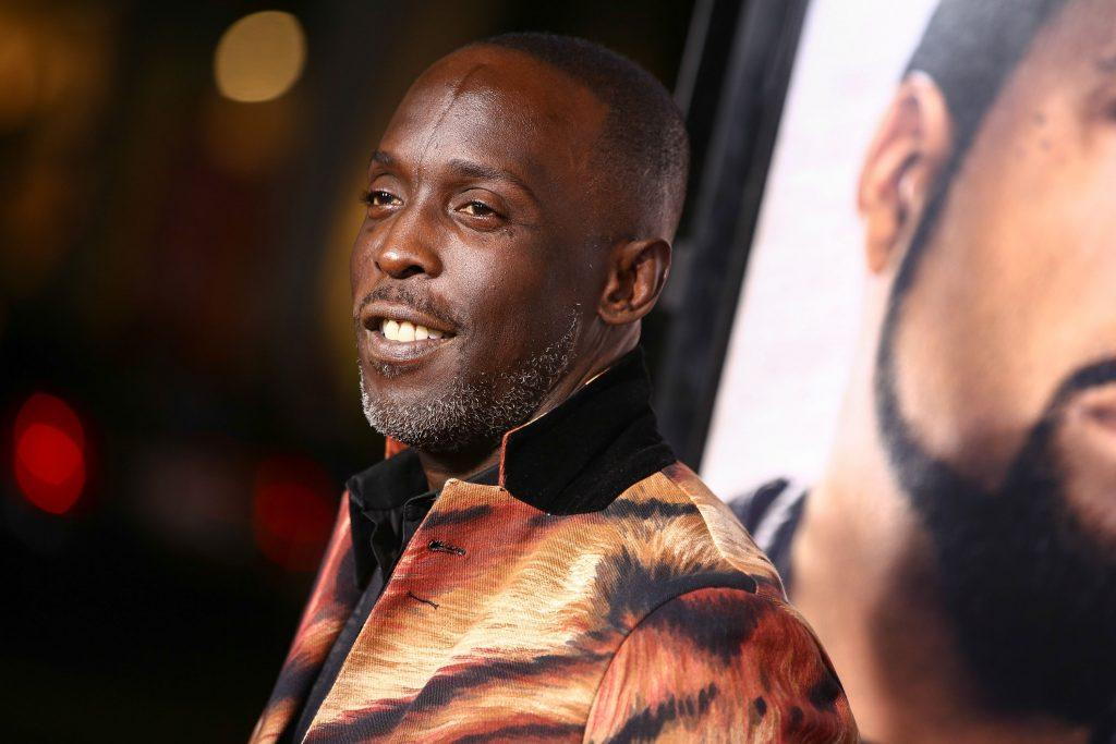 Michael K. Williams at the premiere of Ride Along