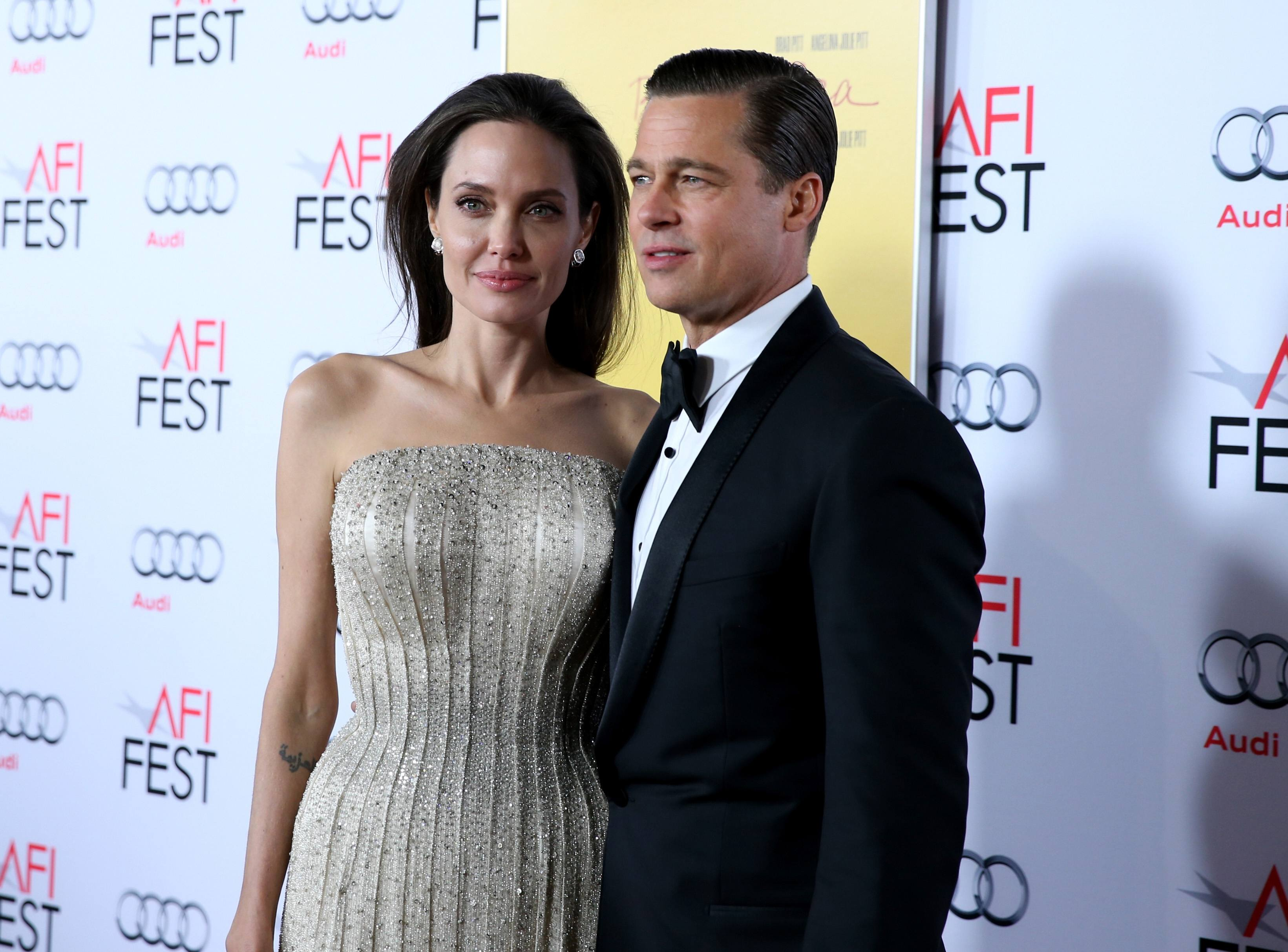 actor-producer Brad Pitt attend Audi at the opening night gala premiere of 'By the Sea'