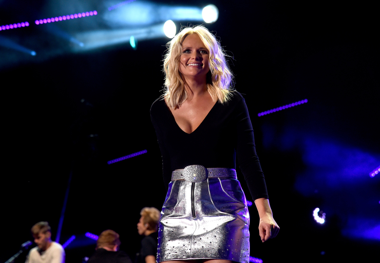 Singer-songwriter Miranda Lambert performs onstage during 2016 CMA Festival - Day 1 at Nissan Stadium on June 9, 2016