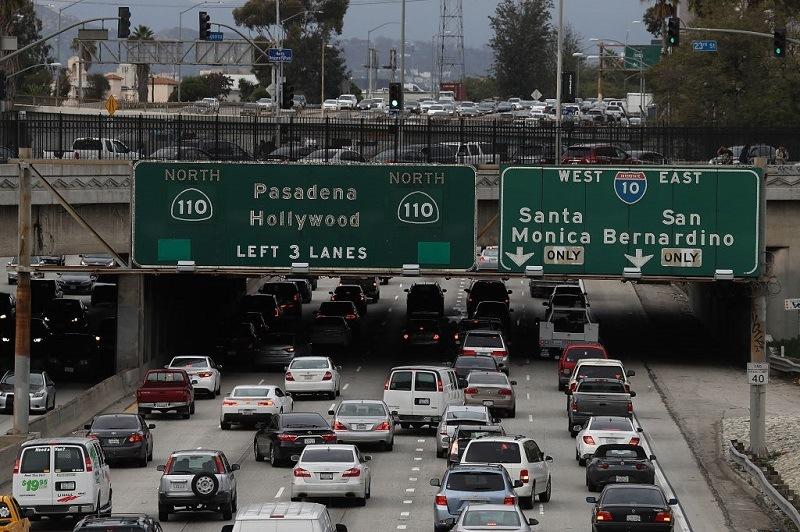 110 freeway in Los Angeles