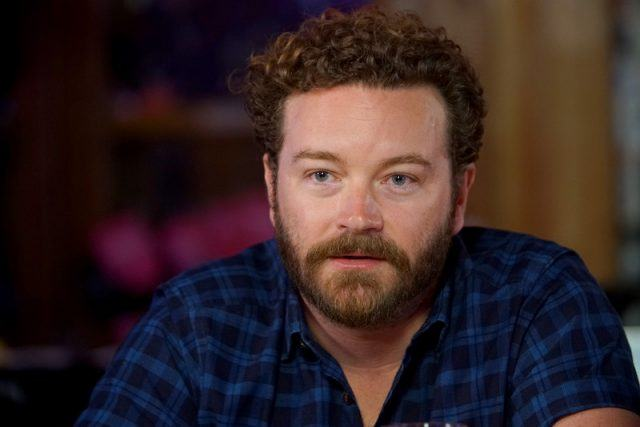 "Danny Masterson speaks during a Launch Event for Netflix ""The Ranch: Part 3"" hosted by Ashton Kutcher."
